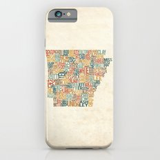 Arkansas by County iPhone 6s Slim Case