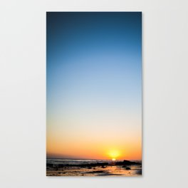 Just another boring sunset Canvas Print