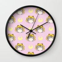 ghibli Wall Clocks featuring Sailor Ghibli by KiraKiraDoodles