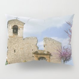 Old Church of Aidone in Sicily Pillow Sham