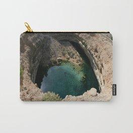 Bimmah Sink hole (Hawaiyat Najm) in Dibba Al Bay Ah, Oman Carry-All Pouch
