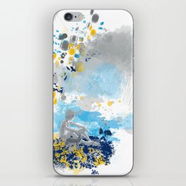 a room with view from asteroid B 612 _ the little prince iPhone Skin