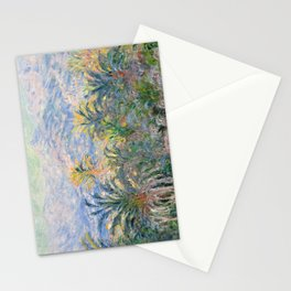 Palm Trees at Bordighera by Claude Monet, 1884 Stationery Cards