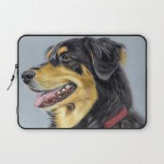 Dog Portrait 01 Laptop Sleeve