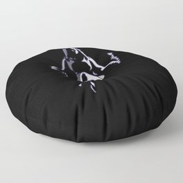 Beautiful and Deadly Floor Pillow