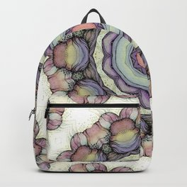 Abstract flowers mandala Backpack