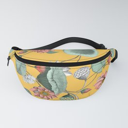 Water lilies florals Fanny Pack