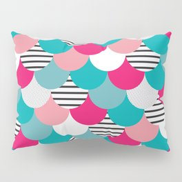 Scale Pattern Pillow Sham