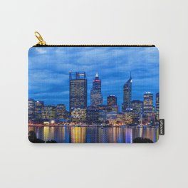 City Blues, Perth City, Western Australia Photographic Art Carry-All Pouch
