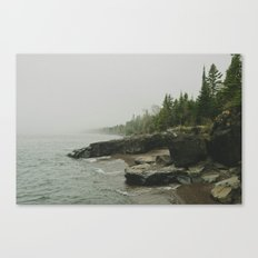 Lake Superior. Lutsen, MN Canvas Print