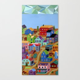 Tigertown Canvas Print