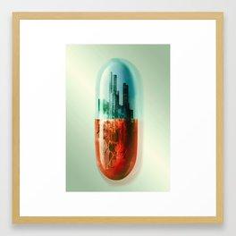 The Pill Framed Art Print