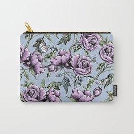 Summer Rose Garden Carry-All Pouch
