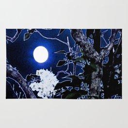Mystical Moon and Viburnum Rug