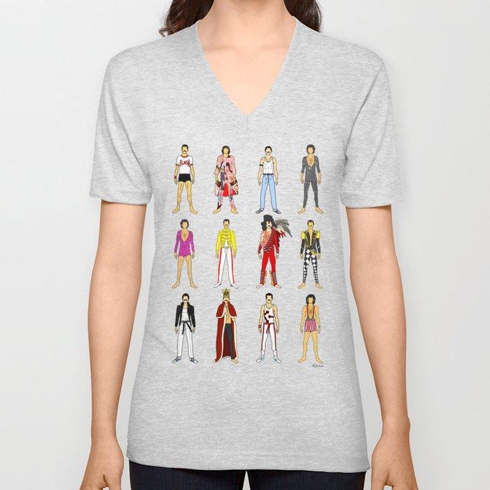Outfits of Freddie Fashion Unisex V-Neck