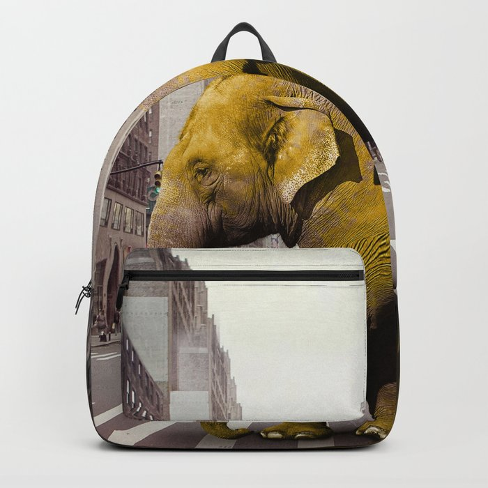 Elephant Taxi NYC Backpack