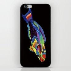 Rainbow parrot fish -2 iPhone & iPod Skin