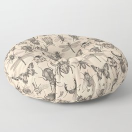Bugs and insects Floor Pillow