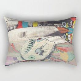 Cantina Patrons Rectangular Pillow