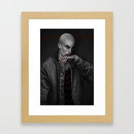 r Framed Art Print