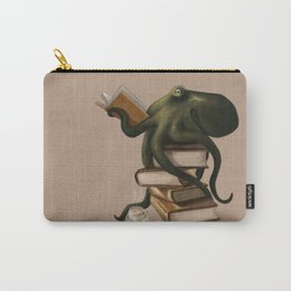 Well-Read Octopus Carry-All Pouch
