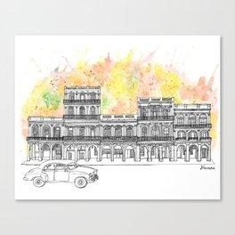 Splash   Havana Canvas Print