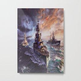 Arizona Kirov Nagato Metal Print