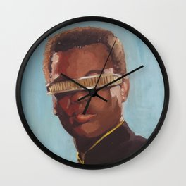 Star Trek : Geordi La Forge Wall Clock