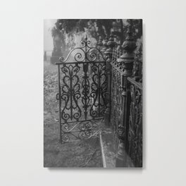 Meet me at the cemetery gate Metal Print