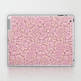 carpet of flowers in vintage pink Laptop & iPad Skin
