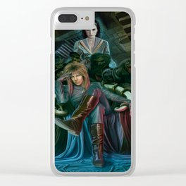 Return To Labyrinth Clear iPhone Case