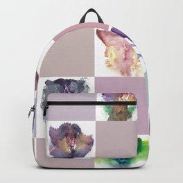 Verronica Kirei's Vulva Portrait Quilt Backpack