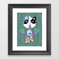 Creepy Cutie Framed Art Print