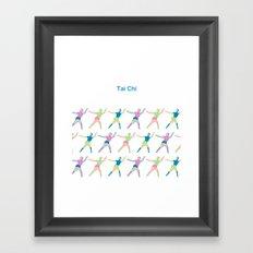 TaiChi Framed Art Print