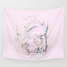 Distressed Gold Nest Wall Tapestry