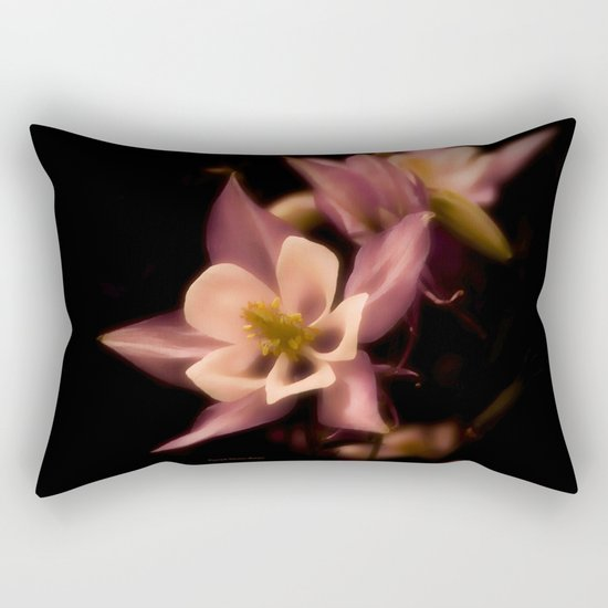 Aquilegia Rectangular Pillow