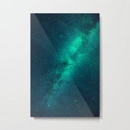 Galaxy Lights Metal Print
