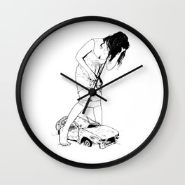 Growth and Gain Wall Clock