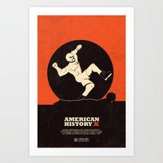 american history x. Art Print
