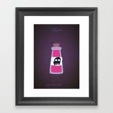 Yzma | Villains do It Better Framed Art Print