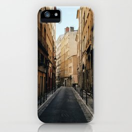 Streets of Old Lyon iPhone Case
