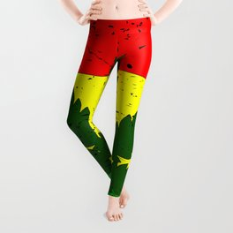 Rastafarian Flag Leggings