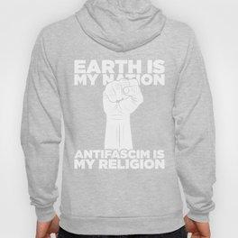 Antifascim is my Religion Hoody