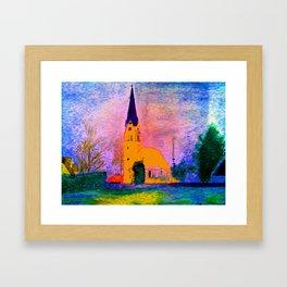 Kleine Kapelle Framed Art Print