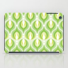 Green Dew Drops iPad Case