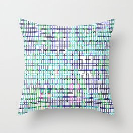lines colors mystery relaxation in mystery Throw Pillow