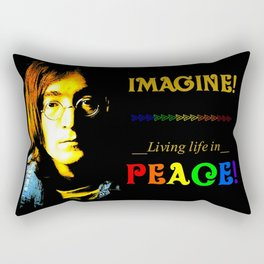 Beatle John Rectangular Pillow
