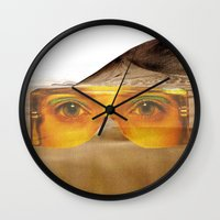 safari Wall Clocks featuring SAFARI  by Tina Time