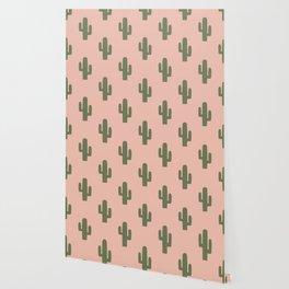 Cactus - Pink Sunset Desert Wallpaper
