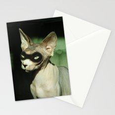 Zorra the sphynx Stationery Cards